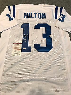 0be5dd3a3 MARVIN HARRISON AUTOGRAPHED Custom Framed Indianapolis Colts Jersey ...