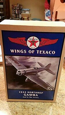 Wings of texaco collectable airplane  2nd in series