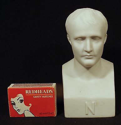 "C.1880's Parian/bisque Bust Of ""n"" Napoleon Sevres ""s"" Mark France Signed Canova"