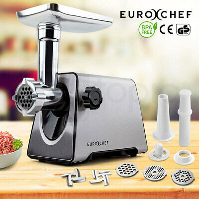 NEW Meat Grinder Electric Stainless Steel Mincer Sausage Kebbe Maker Kitchen