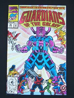 Guardians of the Galaxy #25 Foil Cover NM 1992  High Grade Marvel Comic