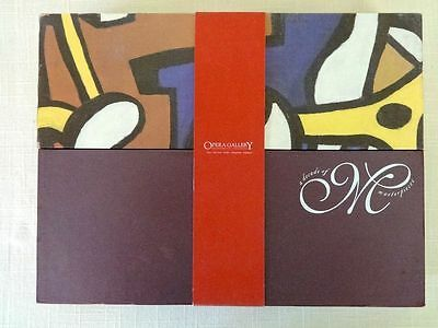 Opera Gallery Decade of Masterpieces Art Paintings Exhibit Book Chagall Slipcase