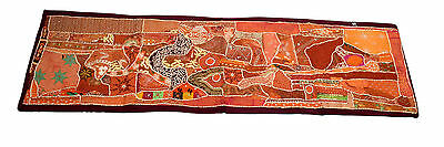 Home Décor Beautiful Hand Made Patch Work Wall Hanging Panel Tapestry. G63-23
