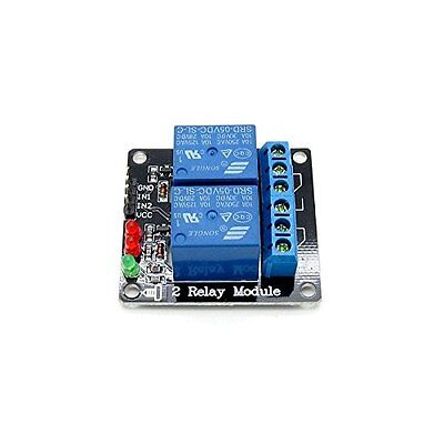 DC 5V Indicator Light LED Two 2 Channel Relay Module Arduino ARM PIC AVR DSP NEW