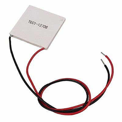 TEC1-12706 40*40MM 12V 60W Heatsink Thermoelectric Cooler Cooling Peltier Plate