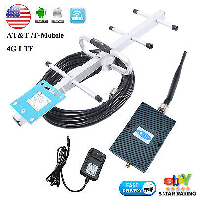 AT&T 4G LTE Band12 700MHz Mobile Signal Booster Cell Amplifier Repeater for home