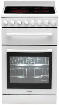 New Euromaid - 54cm Freestanding Oven - Ceramic Cooktop from Bing Lee