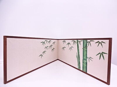 2994570: Japanese Tea Ceremony / Furosaki Byobu (Furo Screen) / Bamboo With Daru