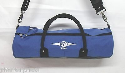 New Taylor Cylinder Inline Lawn Bowls Carry Bag holds 4 Bowls  Blue or Red