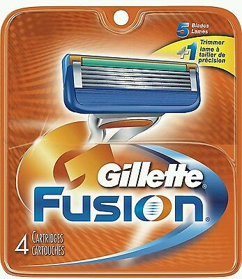 Gillette Fusion Manual - 4 Blades - Brand New - FREE POSTAGE