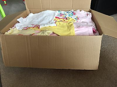 Large Bundle of 0-3 Months Baby Girl Cloth