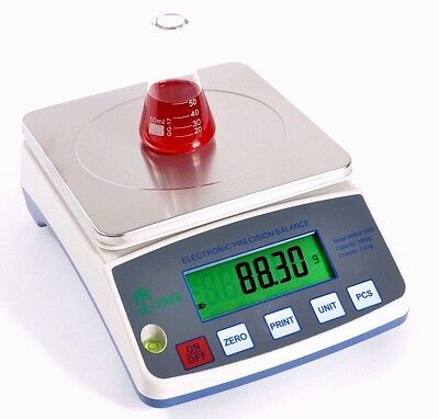 6000g / 0.1g Analytical Lab Balance Hrb6001 Precision Electronic UK Incl Vat