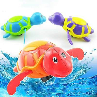 Wind-up Play Turtles Pool Time Animals Toys Swim Floating Baby  Water Kids Bath