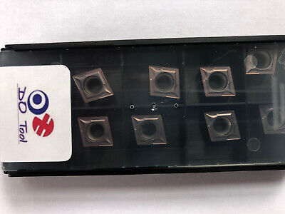 CCMT 09T304 CARBIDE TURNING INSERTS (Original Brand Not Copied)