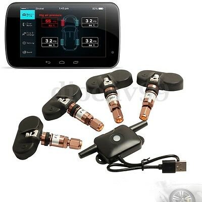 AU Tire Pressure Monitor System TPMS Internal Sensor For Android GPS Car DVD
