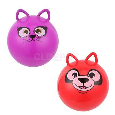 """18"""" Jumpping Bouncing Hop Space Hopper Ball Kid Outdoor Toy Inflatable Bouncer"""