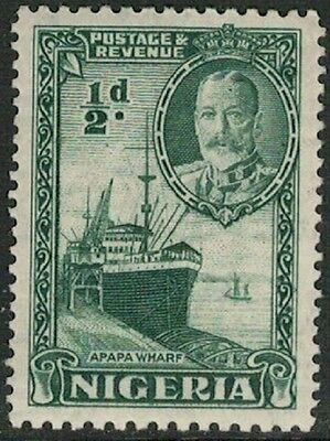 Lot 4125 - Nigeria - 1936 ½d green King George V Mint Hinged Stamp