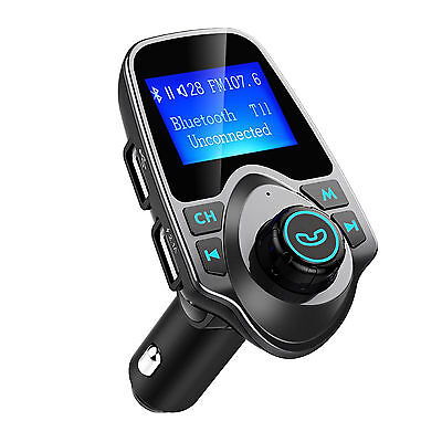 Bluetooth/USB/FM/3.5mm aux/Memory card slot car audio music player/transmitter