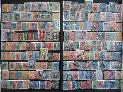 America Latina 1886-1950 / Lot x183 different stamps