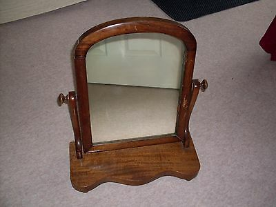 Victorian dressing table swing mirror.