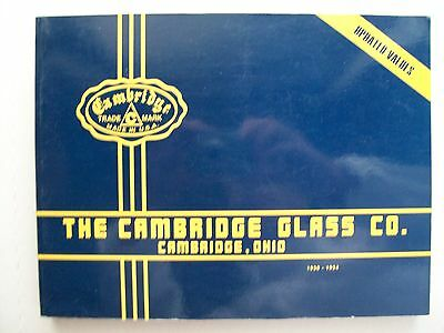 ANTIQUE CAMBRIDGE GLASS PRICE GUIDE COLLECTOR'S BOOK Volume 1 Pictures and Value