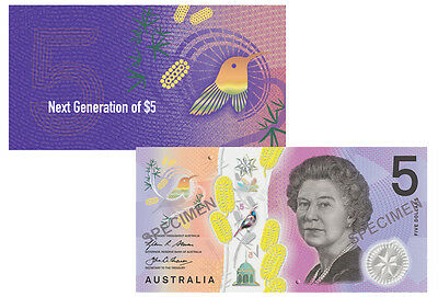 In Stock - RBA Official Folder 2016 $5 Next Generation Unc