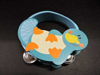 NEW Aussie Bunch - Small Tambourine Platypus 14 cm from Baby Barn Discounts