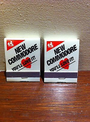 2 f/strike Holden matchbooks - New Commodore - You'll Love It - Excellent cond'n