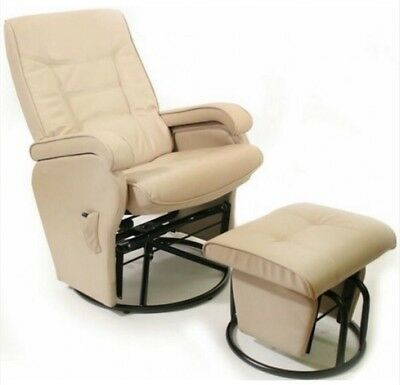 Love N Care Deluxe Glider Chair - Latte Colour