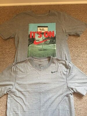 Lot Of Two Men's Size Small Nike T Shirts