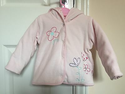 Marks And Spencer's Baby Girl Pink Jacket Size 3-6months