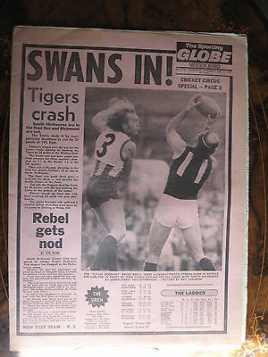 Sporting Globe AUG 6 1977 South Melbourne In The Final 5