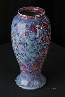 Ruskin Pottery High Fired Vase 1926 26.5cm high British Antique Arts and Crafts