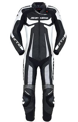 Mono Spidi Leather Body Suit T-2 Wind Pro Black/Anthracite, Talla 48