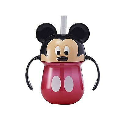 The First Years Disney Baby Trainer Straw Cup with Handles Mickey