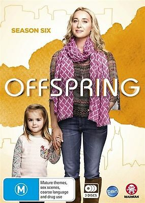 OFFSPRING: THE COMPLETE SIXTH SEASON 6 SIX DVD Region 4 BRAND NEW & SEALED!