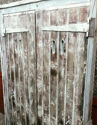 Vintage Shabby Chic French Window Shutters antique reclaimed door gate
