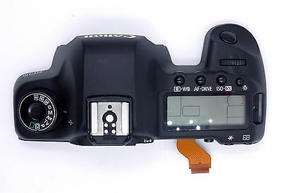 Canon 5D Mark II Top Cover Assembly (w/ LCD & Controls) - as depicted