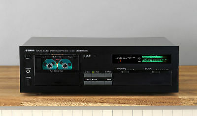 Yamaha K-960 High-End Tapedeck / Kassettendeck in schwarz
