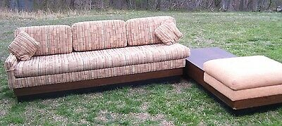 Vintage Mid Century Danish Modern Craft Assoc. Sofa Adrian Pearsall L- Shaped