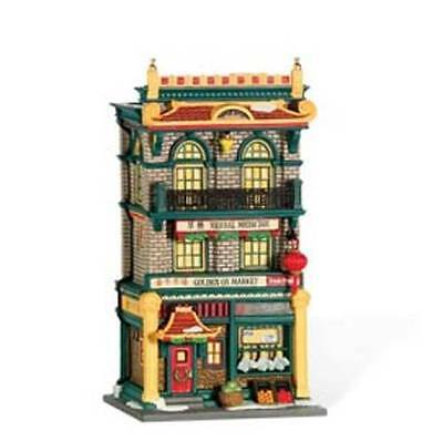 Dept 56 Christmas In The City  The Golden Ox Market