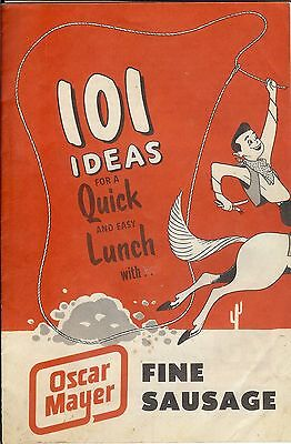 Vintage 101 Ideas For A Quick And Easy Lunch With Oscar Mayer Fine Sausage