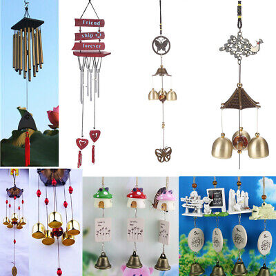 10 Styles Wind Chimes Windchime Church Bells Tubes Garden Room Hanging Decor New