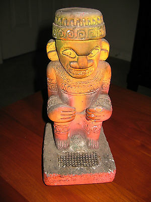 Disney Very Rare Tiki Insent Statue By Fred Treman Vintage
