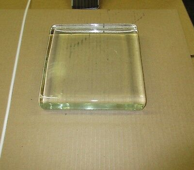 PC Vistabrik Solid Glass Block Brick PAVER (6 Pack) 8 in x 8 in x 1/2 in