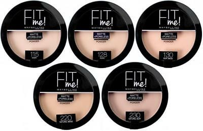 Maybelline Fit Me Matte + Poreless Pressed Powder - Choose Your Shade - 14g