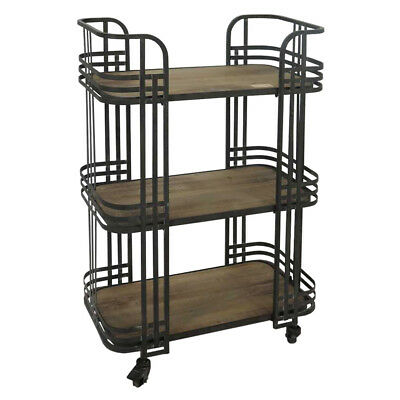 NEW Luxe Deco 3 Tier Bar Cart