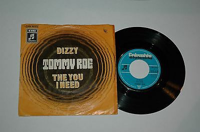 """7""""/TOMMY ROE/DIZZY/Columbia 006-90073"""