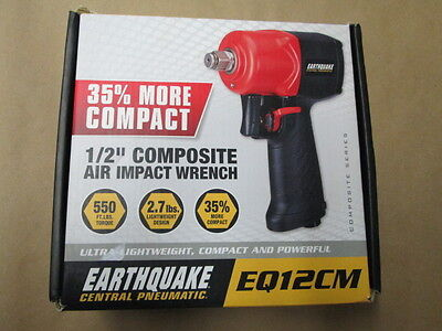 "Earthquake Central Pneumatic 1/2""Composite Air Impact Wrench  EG12CM"