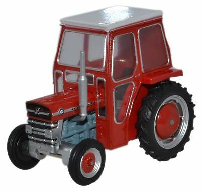 Oxford Diecast Massey Ferguson 135 Red 76MF001 OO Scale (suit HO also)